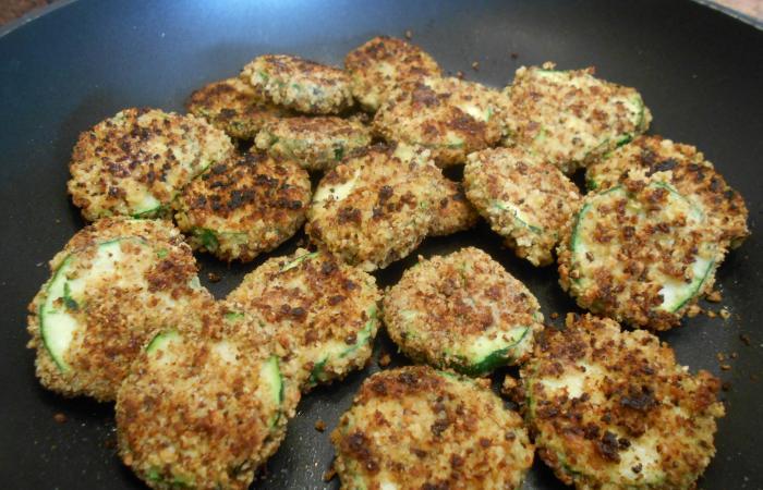 Courgettes Panées, recette Dukan PL par paella30