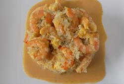 Photo Dukan Risotto de crevettes