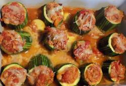 Photo Dukan Courgettes farcies au thon