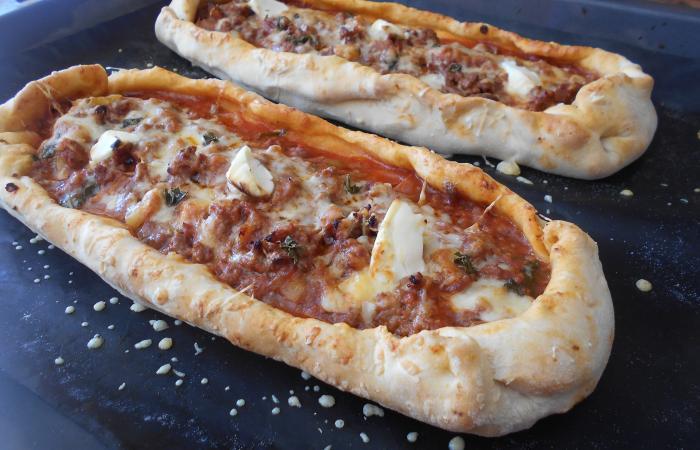 pizza barquette recette dukan conso par paella30 recettes et forum dukan pour le r gime dukan. Black Bedroom Furniture Sets. Home Design Ideas