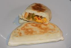 Photo Dukan Naans poulet/poivrons/fromage