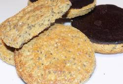 Photo Dukan Biscuits aux graines de chia et chocolat