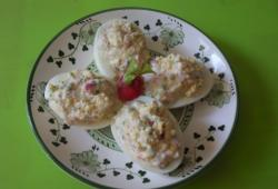 Photo Dukan Oeufs farcis aux radis