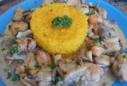 Recette Dukan : Fruits de mer � la Normande