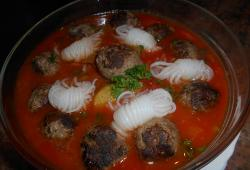 Photo Dukan Minestrone aux boulettes