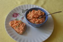 Photo Dukan Tartinade de carotte