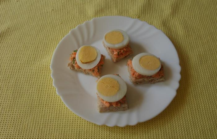 Régime Dukan (recette minceur) : Toasts carotte / oeuf  #dukan http://www.proteinaute.com/recette-toasts-carotte-oeuf-13323.html