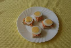 Photo Dukan Toasts carotte / oeuf