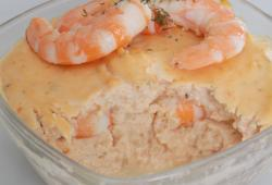 Photo Dukan Terrine de saumon et crevettes