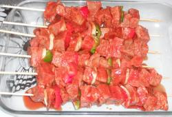 Photo Dukan Brochettes de boeuf mexicaines