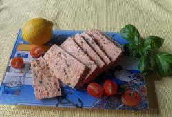Photo Dukan Terrine de saumon au wakamé