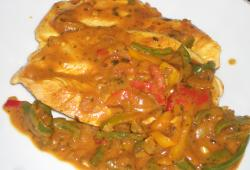 Photo Dukan Escalope de dinde sauce curry coco