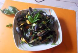 Photo Dukan Moules au curcuma