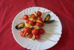 Photo Dukan Brochettes de moules