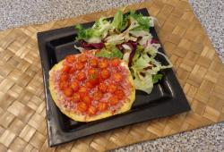 Photo Dukan Pizza aux tomates cerises