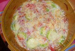 Photo Dukan Gratin de courgettes/tomates/oignons