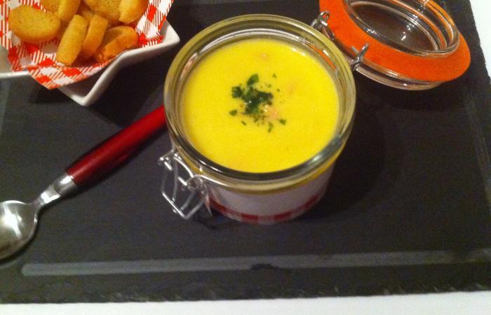 Velout de potiron jambon vache qui rit 39 thermomix 39 recette dukan pl par fanie37 recettes et - Recette thermomix regime ...