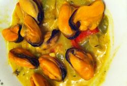 Photo Dukan Moules curry/coco