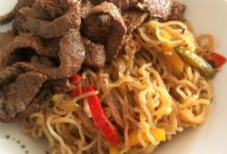 Photo Dukan Pad thai boeuf & konjac