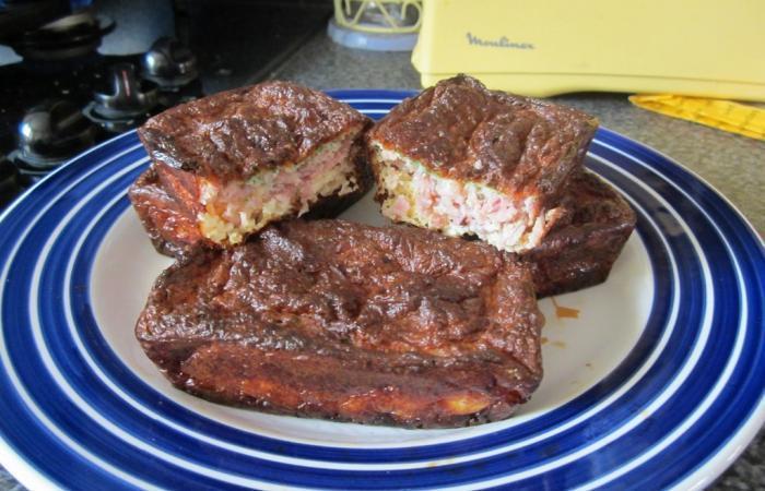 Cake jambon olive et fromage par 39 doune22 39 recette dukan pp par thermomix recettes et forum - Recette thermomix regime ...