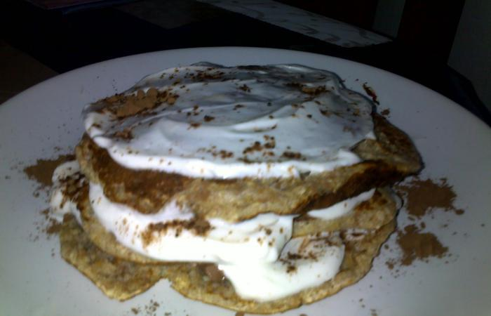 Régime Dukan (recette minceur) : Duo galette choco/fromage blanc  #dukan http://www.proteinaute.com/recette-duo-galette-choco-fromage-blanc-1370.html