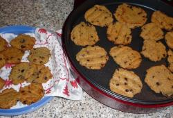 Photo Dukan Cookies aux pépites de chocolat