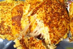 Photo Dukan Cauliflower grilled cheese ' burger de chou-fleur au fromage'