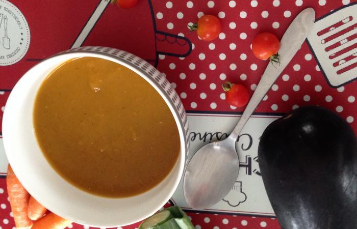 Velout de l gumes mi saison au thermomix recette dukan pl par fanie37 recettes et forum - Recette thermomix regime ...