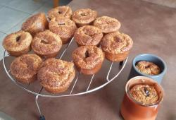 Photo Dukan Muffin's framboises chocolat