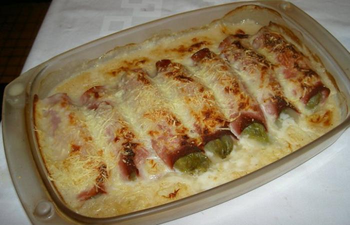 Endives au jambon recette dukan pl par crevette92 recettes et forum dukan pour le r gime dukan - Recette endives au jambon ...