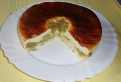 Photo Dukan Cheesecake vanille et rhubarbe