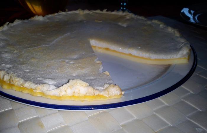 Tarte au citron meringu recette dukan pp par carobinou recettes et forum dukan pour le - Recette tarte au citron sans meringue ...