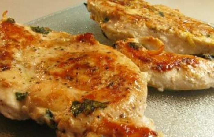 Poulet roti la moutarde recette dukan pp par siibeell recettes et forum dukan pour le - Cuisse de poulet a la moutarde au four ...
