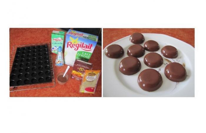 bonbons chocolat au lait g latine recette dukan pp. Black Bedroom Furniture Sets. Home Design Ideas