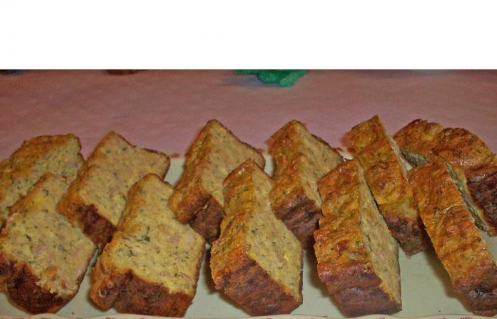 cake au jambon moutarde et persil
