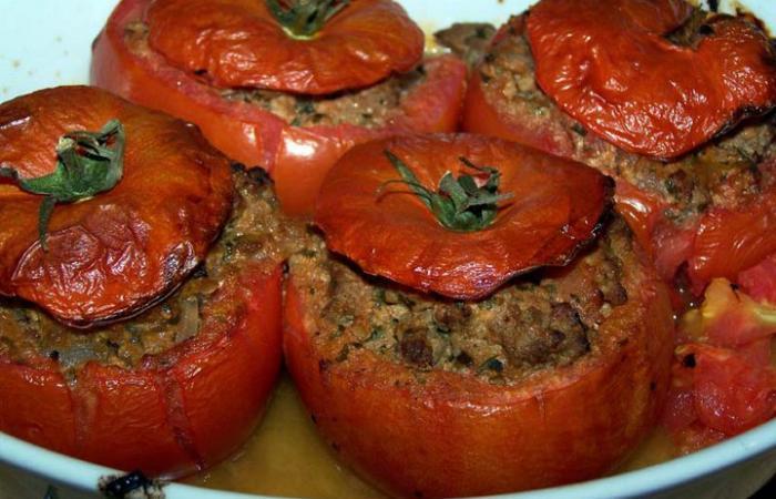tomates farcies au boeuf recette dukan pl recettes et forum dukan pour le r gime dukan. Black Bedroom Furniture Sets. Home Design Ideas