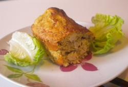 Recette Dukan : Mini cake poulet/curry (coco)