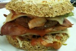 Recette Dukan : Big cheese Dukan burger