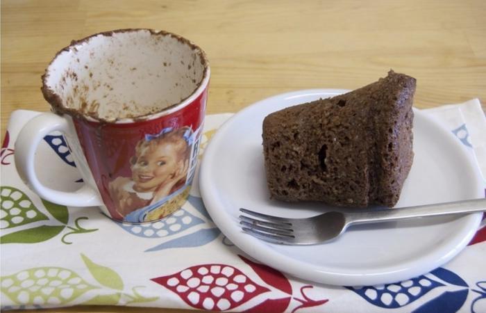 Mug Cake Au Chocolat Pret En 3 Min Recette Dukan Pl Par Brunarte