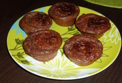 Photo Dukan Muffins façon brownies chocolat noisette