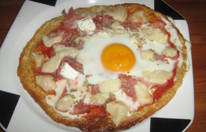 Pizza Dudu à Loeuf Recette Dukan Pl Par Sophie D Recettes Et