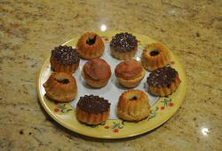 Photo Dukan Muffins aux baies de goji nappage dudutella