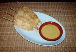 Photo Dukan Brochettes de poulet au piment