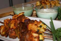 Photo Dukan Brochettes tandoori