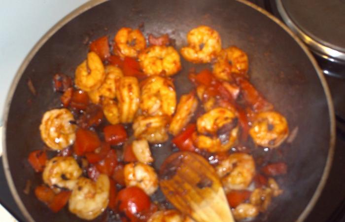 Régime Dukan (recette minceur)  Crevettes sautées façon asiatique dukan  http/