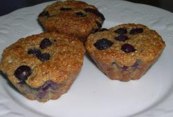 Photo Dukan Muffins aux myrtilles