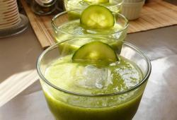 Photo Dukan Gaspacho courgette concombre