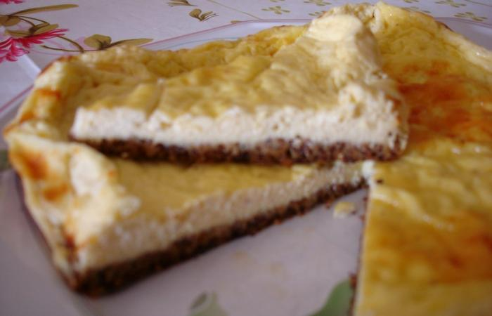 Régime Dukan (recette minceur) : Cheese cake vanillé #dukan http://www.proteinaute.com/recette-cheese-cake-vanille-4498.html