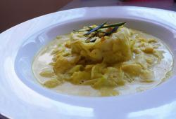 Photo Dukan Tagliatelle de courgette sur lit de curry