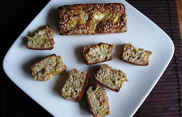 cake au saumon fum brocolis concombre et carr frais recette dukan pl par ktia recettes et. Black Bedroom Furniture Sets. Home Design Ideas